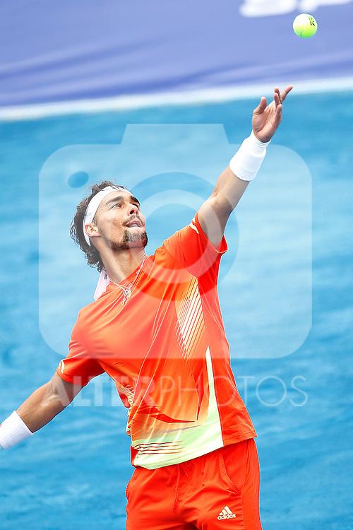 Fabio Fognini during Madrid Open Tennis 2012 Match.May, 8, 2012(ALTERPHOTOS/ALFAQUI/Acero)