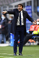 Antonio Conte coach of FC Internazionale reacts during the Serie A football match between FC Internazionale and Torino FC at stadio San Siro in Milano (Italy), November 22th, 2020. Photo Image Sport / Insidefoto