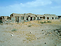 Iraq 2005  The prison of Abu al Jad, in the desert of Busaya, near the Saudi border where the Barzani were jailed before being executed <br /> Irak 2005 La prison de Abu al Jad, dans le desert de Busaya, ou étaient emprisonnés les hommes Barzani avant d'etre executés.<br />  عیراق سالی 2005 , زیندانی ابوالجاد له که ویری بووسایا نیزیکی سنووری سه عوودی , پیاوان بارزانی له <br />  پیش ئه وه ی بکوژرین لیره دا زیندانی بوون