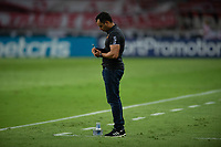 10th February 2021; Beira-Rio Stadium, Porto Alegre, Brazil; Brazilian Serie A, Internacional versus Sport Recife; Sport Recife manager Jair Ventura takes notes on the sideline