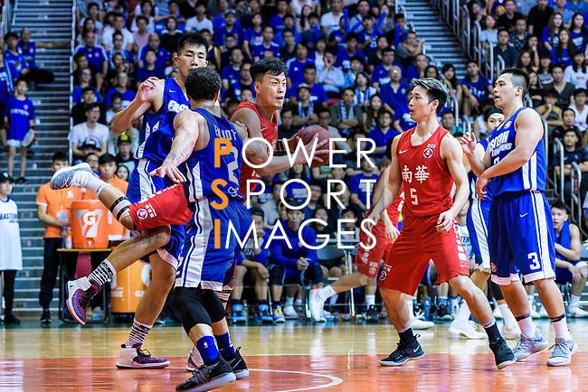 Hong Kong Basketball League 2018 match between SCAA v Eastern Long Lions on August 10, 2018 in Hong Kong, Hong Kong. Photo by Marcio Rodrigo Machado/Power Sport Images