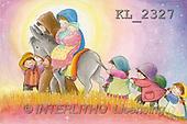 Interlitho, Soledad, CHRISTMAS CHILDREN, naive, paintings, Holy Family, kids(KL2327,#XK#) Weihnachten, Navidad, illustrations, pinturas