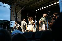 Montreal (Qc) CANADA - June 2010 - Arcade Fire outdoor concert