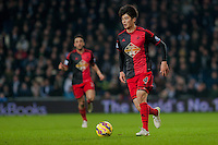WEST BROMWICH, ENGLAND - FEBRUARY 11:Ki Sung-Yueng of Swansea City  in action  during the Premier League match between West Bromwich Albion and Swansea City at The Hawthorns on February 11, 2015 in West Bromwich, England. (Photo by Athena Pictures/Getty Images)