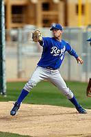 Daniel Duffy  - Kansas City Royals - 2009 spring training.Photo by:  Bill Mitchell/Four Seam Images