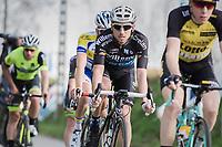Gaetan Bille (BEL/Veranda's Willems-Crelan) in the breakaway group<br /> <br /> 72nd Nokere Koerse 2017 (1.HC)