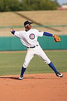 Starlin Castro - Mesa Solar Sox, 2009 Arizona Fall League.Photo by:  Bill Mitchell/Four Seam Images..