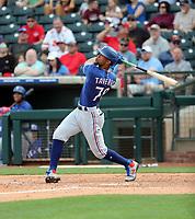 Leody Taveras - Texas Rangers 2020 spring training (Bill Mitchell)
