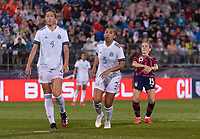 EAST HARTFORD, CT - JULY 1: Megan Rapinoe #15 of the USWNT reacts to her shot during a game between Mexico and USWNT at Rentschler Field on July 1, 2021 in East Hartford, Connecticut.