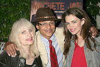 Laura Velgos with Clinton H. Wallace and Alicia Arden<br />at the VIP Screening of 'Machete Joe'. Paramount Studios, Hollywood, CA. 01-30-09<br />Dave Edwards/DailyCeleb.com 818-249-4998