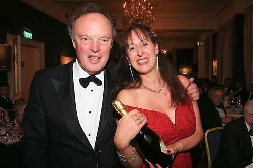 RORC Commodore Michael Boyd and 2017 ISORA Champion Vicky Cox (J/109 Mojito, Pwllheli SC) at the ISORA Prize Dinners in the National YC 2017. In November 2007 a dinner was held in the NYC, ostensibly to wind up ISORA. The diners decided otherwise. Ten years later, this ISORA awards dinner attracted an attendance of 240.