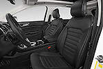 Front seat view of 2015 Ford Edge Titanium 5 Door SUV Front Seat  car photos