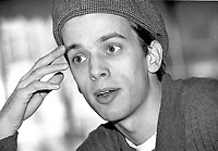 Montreal (qc) CANADA -1997 file Photo- Jean-Francois Asselin, film maker