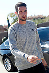 Spain's Sergio Rico arrives to the national football team stage. March 20,2017.(ALTERPHOTOS/Acero)
