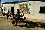A milk seller in the morning light<br /> Trinidad, Cuba
