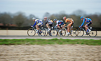 48th Amstel Gold Race 2013..speeding lead group