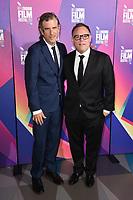 "director, Brett Morgan, and Bryan Burk<br /> arriving for the London Film Festival 2017 screening of ""Jane"" at Picturehouse Central, London<br /> <br /> <br /> ©Ash Knotek  D3334  13/10/2017"