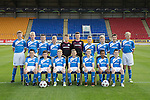 St Johnstone Academy Under 13's…2016-17<br />Back row from left, Craig Donald, Logan Young, Aaron Isaac, Scott Lavelle, Craig Hepburn, Matthew Hanlon, Euan Hay, Fraser Armstrong, Angus Gibson and Luke Graham.<br />Front row from left, Gavin Hamilton, Mitchell Findlay, Jack Bain, Ben Reilly, Evan Wolecki, Danny McEwan and Liam Gracie.<br />Picture by Graeme Hart.<br />Copyright Perthshire Picture Agency<br />Tel: 01738 623350  Mobile: 07990 594431