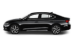 Car Driver side profile view of a 2020 Skoda Octavia Style 5 Door Hatchback Side View