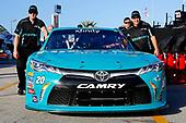 2017 Xfinity - Powershares QQQ 300<br /> Daytona International Speedway, Daytona Beach, FL USA<br /> Friday 24 February 2017<br /> Erik Jones, Hisense Toyota Camry<br /> World Copyright: Russell LaBounty/LAT Images<br /> ref: Digital Image 17DAY2rl_04449