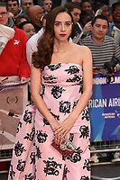 """Zoe Kazan<br /> arriving for the London Film Festival screening of """"The Ballad of Buster Scruggs"""" at the Cineworld Leicester Square, London<br /> <br /> ©Ash Knotek  D3438  12/10/2018"""