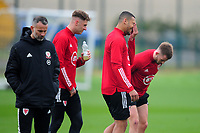 Ben Cabango of Wales during the Wales Training Session at The Vale Resort in Cardiff, Wales, UK. Monday 5 October 2020