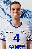 LEEK - Volleybal, Presentatie Lycurgus , seizoen 2021-2022, 01-09-2021 , Lycurgus speler Jaron Spiegelaar