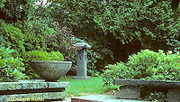 HF01-159x  Sand patio and stone - Japanese style garden