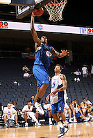 Traik Black handles the ball during the 2009 NBPA Top 100 Basketball Camp held Friday June 17- 20, 2009 in Charlottesville, VA. Photo/ Andrew Shurtleff
