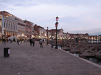 Dusk on the Riva Schiavone - Venice