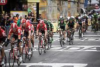 André Greipel (DEU/Lotto-Soudal) waiting his turn before striking himself (with 3 laps to go) <br /> <br /> stage 21: Sèvres - Champs Elysées (109km)<br /> 2015 Tour de France