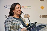 SAO PAULO, SP, 22 DE AGOSTO 2012 – Maria Cristina, representante da DENATRAN e Governo Federal durante Conferencia de Seguranca no Hotel Renaissance, na Alameda Santos.  (FOTO: THAIS RIBEIRO / BRAZIL PHOTO PRESS).