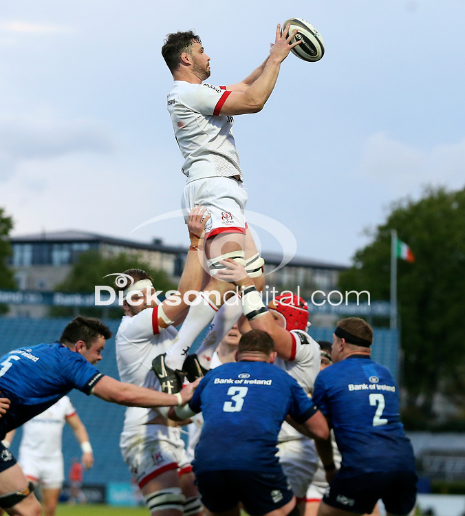 Friday 14th May 2021; Sam Carter during the Guinness PRO14 Rainbow Cup Round 3 clash between Leinster and Ulster at The RDS Arena, Ballsbridge, Dublin, Ireland. Photo by John Dickson/Dicksondigital