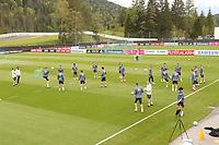 Mannschaft auf dem Trainingsplatz - Seefeld 29.05.2021: Trainingslager der Deutschen Nationalmannschaft zur EM-Vorbereitung