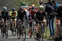 Katarzina Niewiadoma (POL/Canyon SRAM Racing)  up the Col de La Redoute.<br /> <br /> 3th Liège-Bastogne-Liège-Femmes 2019 (1.WWT)<br /> 1 Day Race: Bastogne – Liège 138,5km<br /> <br /> ©kramon