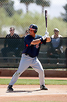 Tim Fedroff   -  Cleveland Indians - 2009 spring training.Photo by:  Bill Mitchell/Four Seam Images