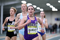 WINSTON-SALEM, NC - FEBRUARY 08: Emma Grace Hurley #6 of Furman University runs in the Women's Camel City Elite 3000 Meters at JDL Fast Track on February 08, 2020 in Winston-Salem, North Carolina.