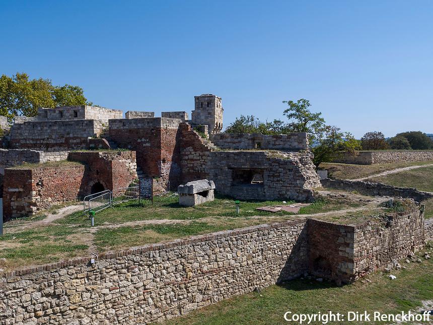 Osttor mit Dizdar-Turm, Festung Kalemegdan, Belgrad, Serbien, Europa<br /> east gate with Dizdar Tower  in the fortress Kalemegdan,  Belgrade, Serbia, Europe