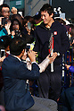 Kei Nishikori attends the charity event KEI for KIDS