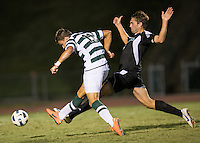 Number 8 ranked Charlotte beats number 16 ranked Coastal Carolina 1-0 on a goal by Thomas Allen in the 101st minute during the second overtime.  Giuseppe Gentile (11), Kjartan Sigurdsson (4)