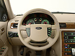 Straight steering wheel view of a 2006 Ford Five Hundred Sedan