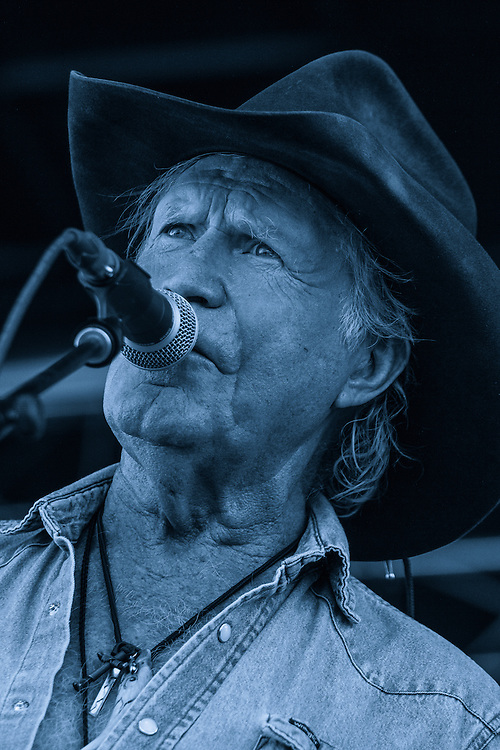 Billy Joe Shaver performs at the Red Ants Pants Music Festival in White Sulfur Springs Montana July 28 2012.