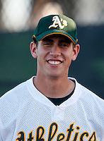 Ryan Ortiz -  AZL Athletics - 2009 Arizona League.Photo by:  Bill Mitchell/Four Seam Images