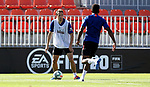Atletico de Madrid's Santiago Arias during training session. May 29,2020.(ALTERPHOTOS/Atletico de Madrid/Pool)
