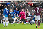 Hearts v St Johnstone…26.01.19…   Tynecastle    SPFL<br />Marcus Godinho puts Hearts 1-0 up<br />Picture by Graeme Hart. <br />Copyright Perthshire Picture Agency<br />Tel: 01738 623350  Mobile: 07990 594431