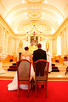 ARCHIVE -Mariage catholique,<br /> au Quebec<br /> <br /> PHOTO :  Agence Quebec Presse