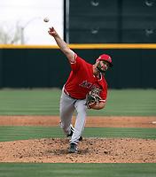 Travis Herrin - Los Angeles Angels 2021 spring training (Bill Mitchell)