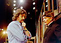 Trevor Nunn directing An Enemy of The People by Henrik Ibsen,  Ian McKellen as Dr Tomas Stockmann. Perrforming at The Olvier Theatre at The Royal National Theatre in 1997  pic Geraint Lewis EDITORIAL USE ONLY