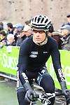 Sylvain Chavanel (FRA) Omega Pharma-Quick Step at the sign on before the start of the 104th edition of the Milan-San Remo cycle race at Castello Sforzesco in Milan, 17th March 2013 (Photo by Eoin Clarke 2013)