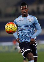 Calcio, Serie A: Lazio vs Juventus. Roma, stadio Olimpico, 4 dicembre 2015.<br /> Lazio's Keita Balde Diao in action during the Italian Serie A football match between Lazio and Juventus at Rome's Olympic stadium, 4 December 2015.<br /> UPDATE IMAGES PRESS/Isabella Bonotto